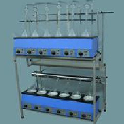 KJELDHAL DIGESTION & DISTILLATION UNITS Combined