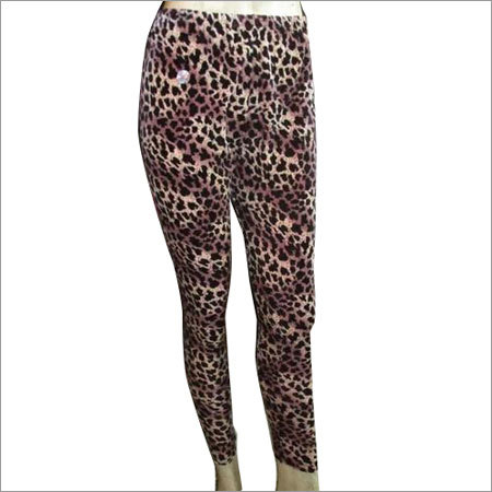 Fancy Cotton Lycra Leggings