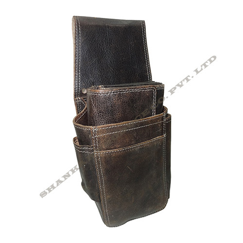 Leather Waiter Purse