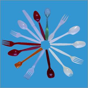 Disposable Plastic Fork Mould