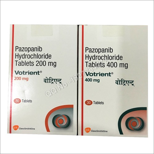 Pazopanib Hydrochoride Tablets 200mg