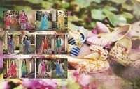 Glossy Patiala Style Straight Salwar Kameez Wholesale