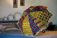 Traditional Handcrafted Embroidered Umbrellas