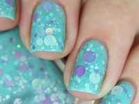 Sparkling Nail Polish glitter