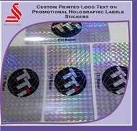 Printed Promotional Customized Hologram Labels