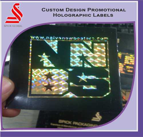 Customized Designs Promotional Hologram Labels