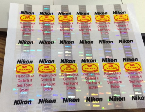Reflective Promotional Holographic Label