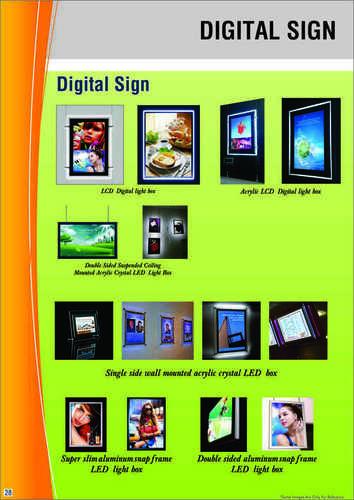 Customized Signages