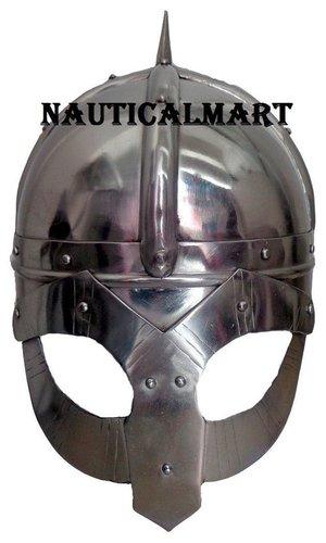 Medieval Norway Viking Armor Helmet
