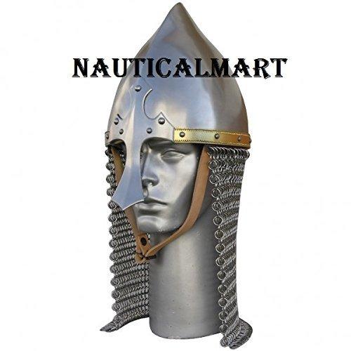 Medieval Knight Steel Armor Arabian Helmet