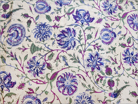 Rayon Hand Block Print Fabric