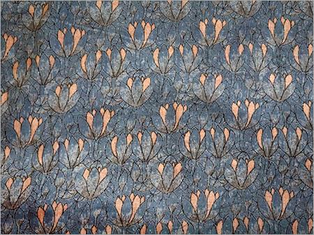 Cotton Corduroy Hand Block Print Fabrics