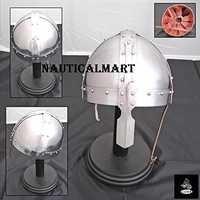 Medieval Knight Steel  Nasal Viking Helmet