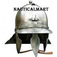 Medieval Steel Lobster Tail Armor Helmet Wearable Helmet