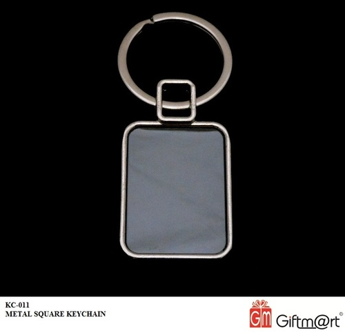 KC-011-METAL SQUARE KEYCHAIN