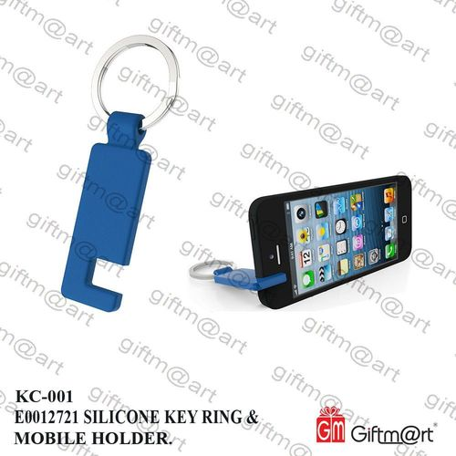 Silicon Mobile Holder Keychain