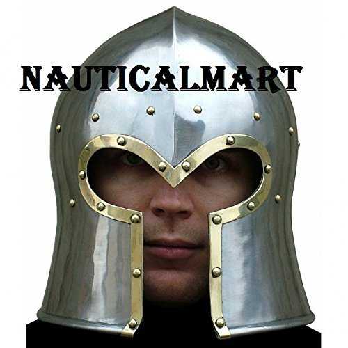Medieval Barbute Wearable Armor Helmet