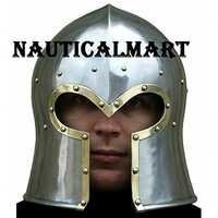 Medieval Barbute Wearable Armor Helmet