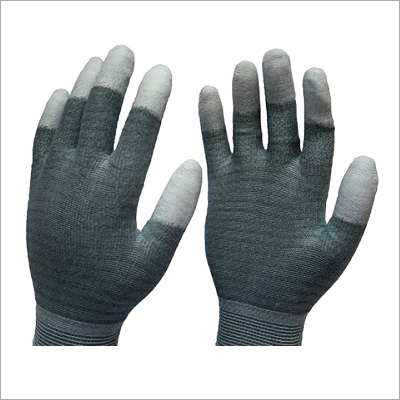 PU Fingertips Coated Gloves