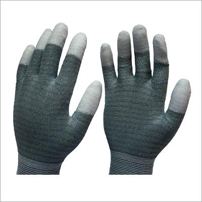 PU Fingertips Coated Gloves