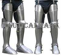 Medieval Larp Armor Leg Guard