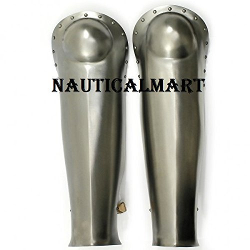 Medieval Knight Gothic Steel Leg Guard
