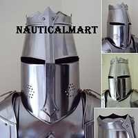 Medieval Knight Traditional English Tournament Armor Helmet
