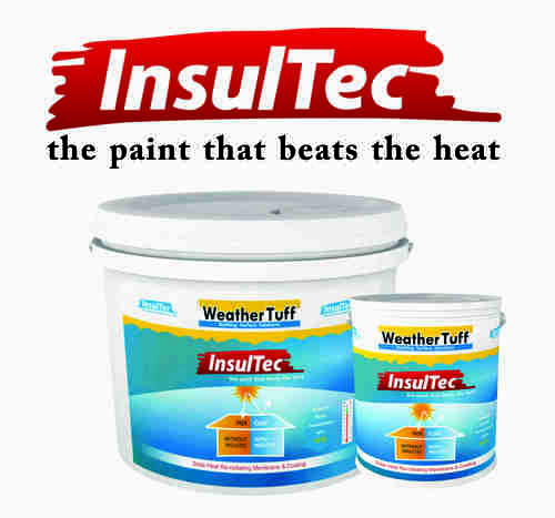Solar Heat Reflective Paint