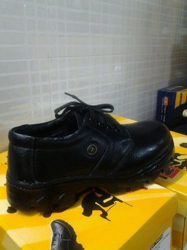 Safety Shoes Leather Material