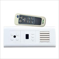 Remote Control Switch for 4 light + 1 Fan + LED Light