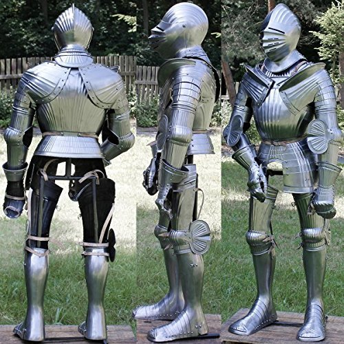 German Maximilian Full Suit Of Armor
