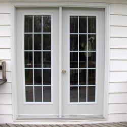 Modular UPVC French Doors