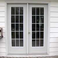 Modular UPVC French Doors