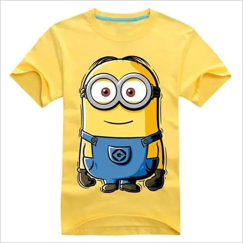Simple Print Kids T Shirt