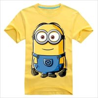 Simple Print Kids T Shirt
