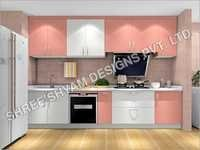 Hot Selling Font Modular Kitchen
