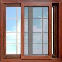 UPVC 3 Track Sliding Window