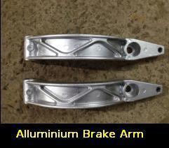 Elevator Machines Aluminium Brake Arm