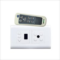 Remote Control Switch for 4light + 1Fan With Roma body
