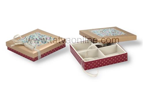 Kraft Paper Chocolate Box