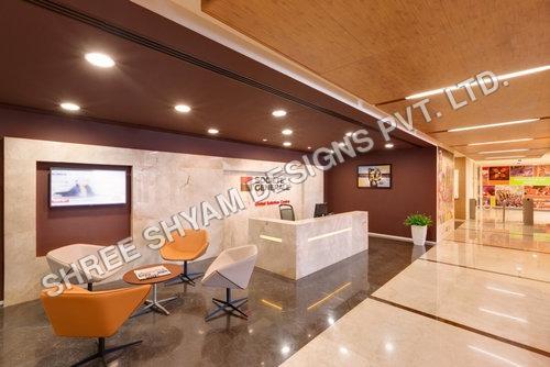 Hotel Reception Designing