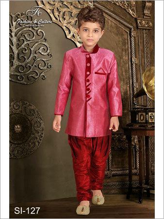 Kids Semi Indo-Western Sherwani