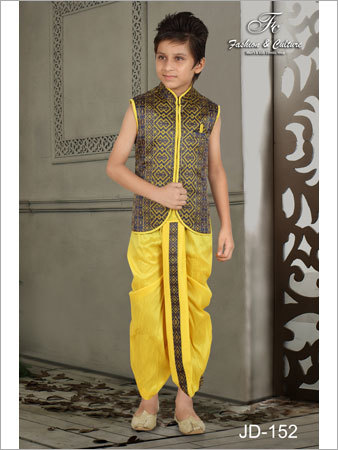 Traditional Kids Dhoti Kurta
