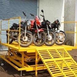 Two Wheeler Bike loading Lift