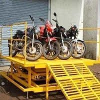 Two Wheeler Bike loading Lift
