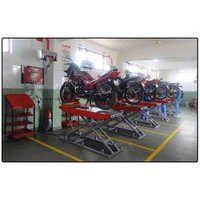 Two Wheeler Garage Equipments