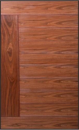 Decorative Veneered Groove Doors