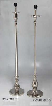 Aluminium - Brass Floor Lamps
