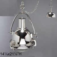 Aluminium Brass Ceiling Lamp