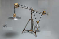 Aluminium -Brass Desk Lamp